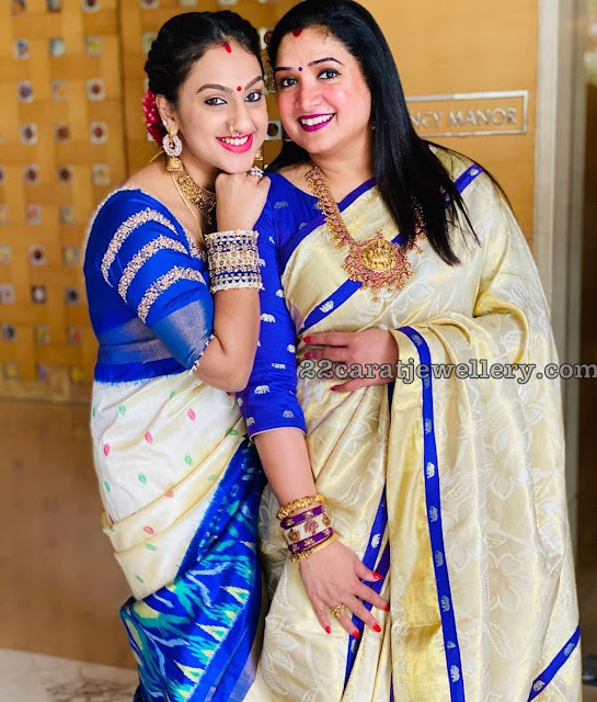 Prita and Aarthi Ravi Jewellery