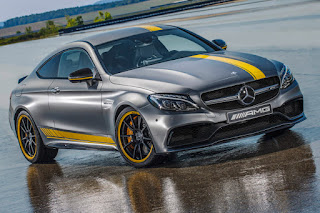 Mercedes-AMG C 63 S Coupé Edition 1 (2016) Front Side