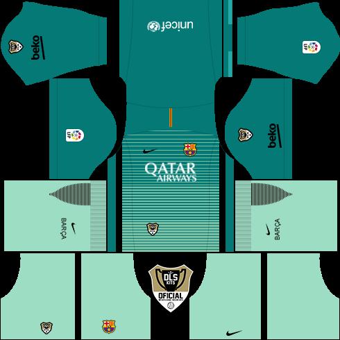 Dream League Soccer Kits: Barcelona (Alternativo) 16/17 - DLS16 & FTS ...