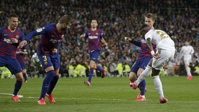 Barcelona Ketar-ketir Bersaing dengan Real Madrid