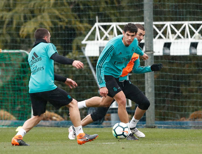 Recuperado de lesão, Marcelo volta a treinar no Real Madrid — Espanhol