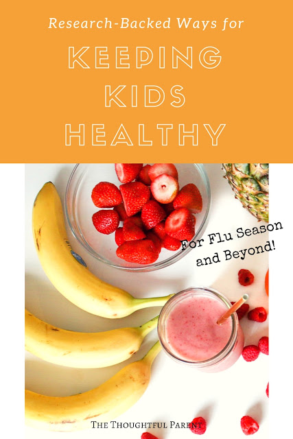 Research-Backed Ways for Keeping Kids Healthy (for Flu Season and Beyond)