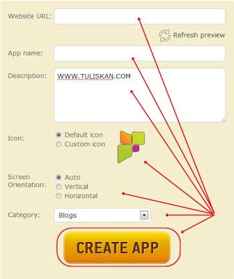Cara Membuat Aplikasi Android untuk Blog atau Website