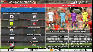 Download FTS Mod PES 2017 v3 by Rudy Apk + Data