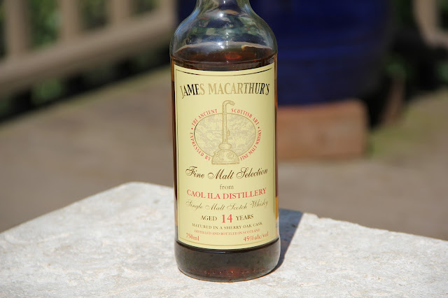 James MacArthur's Fine Malt Selection Caol Ila 14 Year