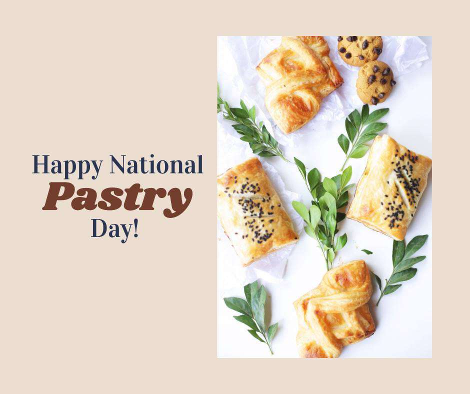 National Pastry Day Wishes Unique Image