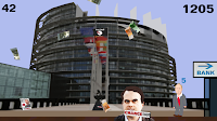 PARTEI Melkt Brüssel Game Leo