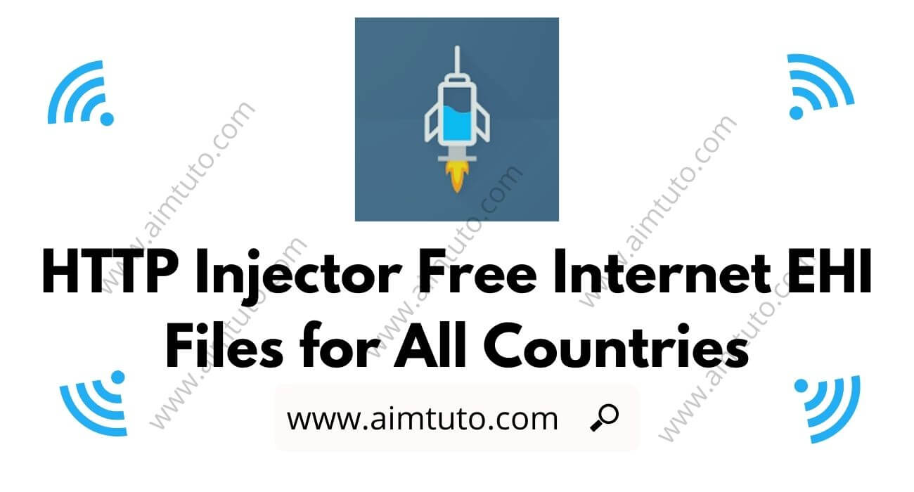 http injector free internet ehi config files download