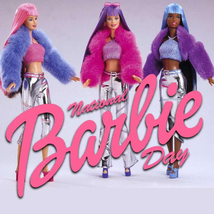 National Barbie Day Wishes Awesome Picture