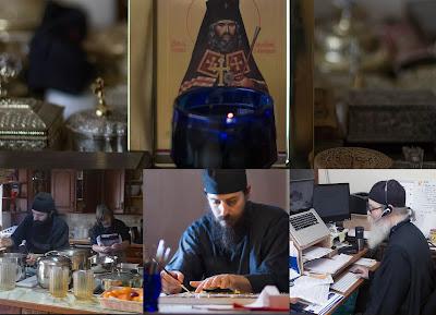 ИПЦ Греции: Фотографии из жизни мужского монастыря Свт. Иоанна Шанхайского в Коблескилл (шт. Нью-Йорк, США)