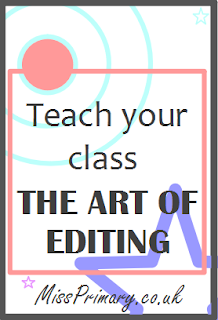 Teach your class to edit and improve their writing independently