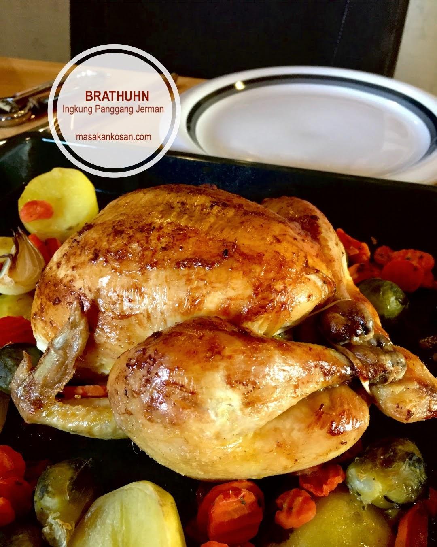 Resep Masakan Kosan: Brathuhn Ingkung Panggang