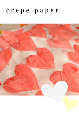 Practical Mom: Bleeding Crepe Paper Art Project for Little Kids