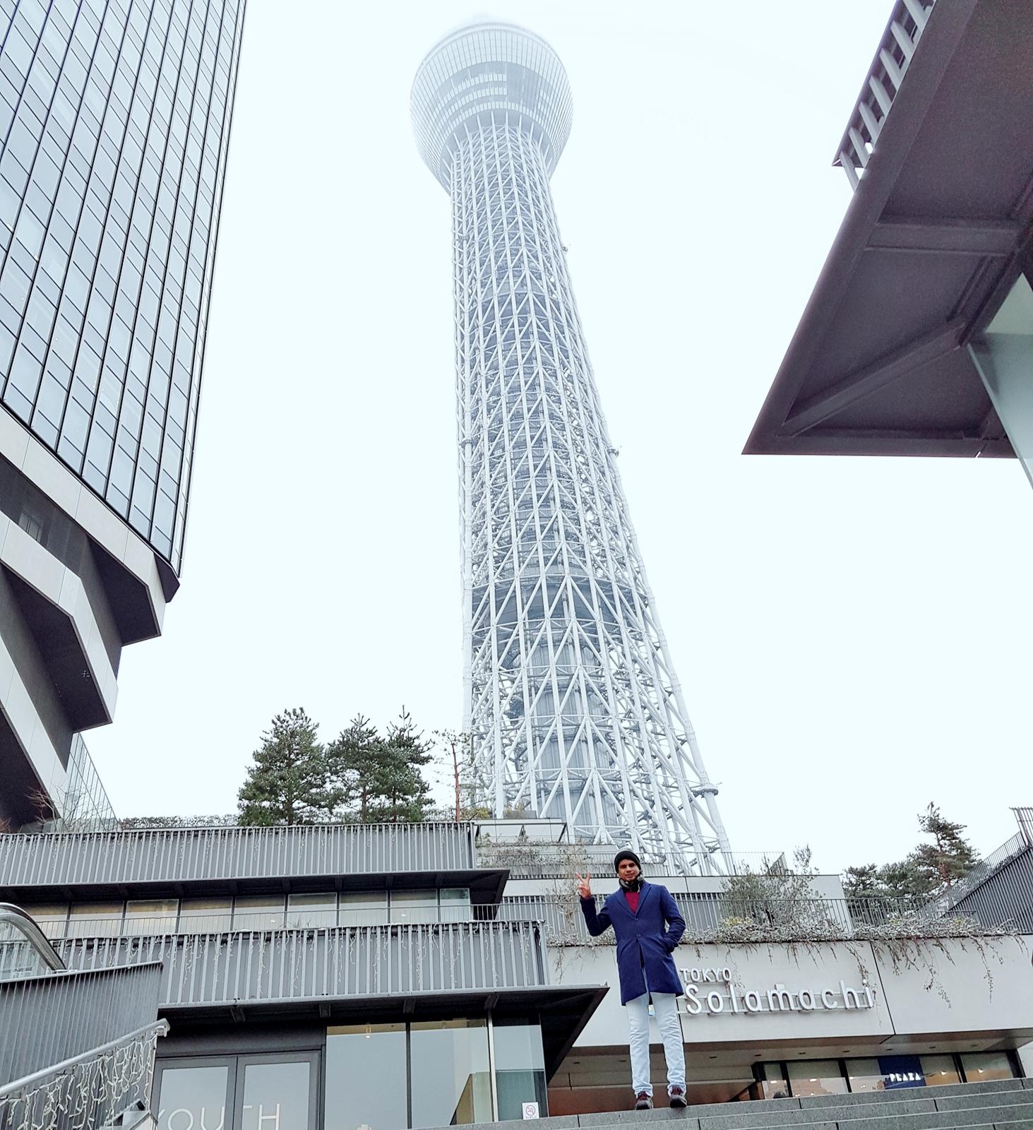 Travelogue Example for Students - M M Kobiruzzaman Tour To Japan