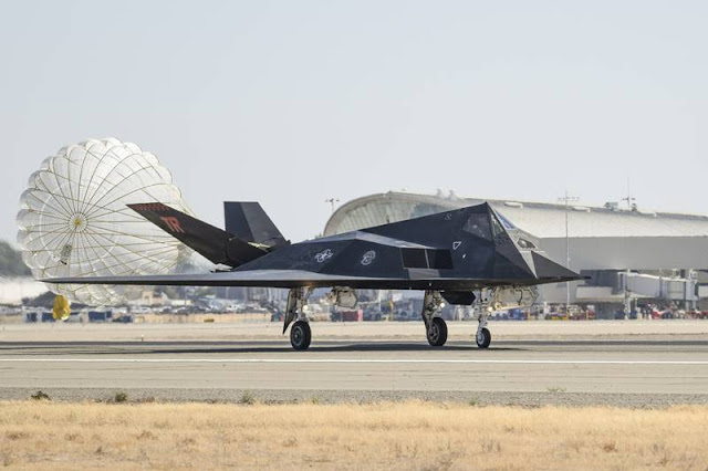 F117 Nighthawk training mission ANG