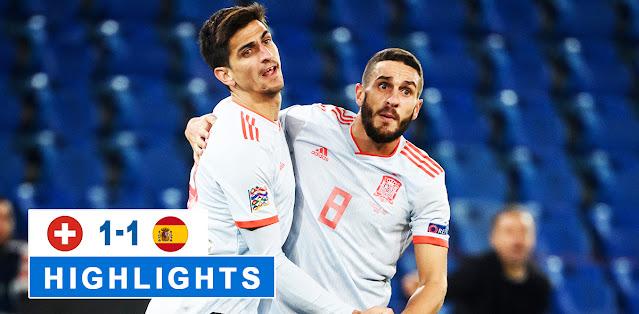 Switzerland vs Spain – Highlights