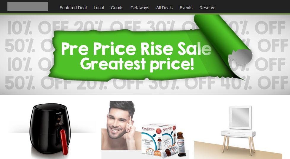 Pre-GST sale revised to Pre Price Rise sale