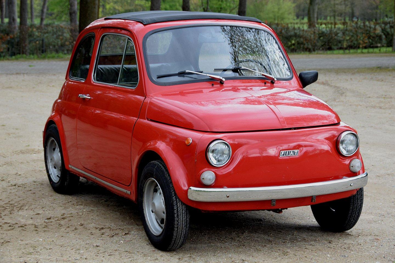 Fiat Garage Mechelen : Fiat 500 l sunroof sedan 1975 stuurman classic and special cars