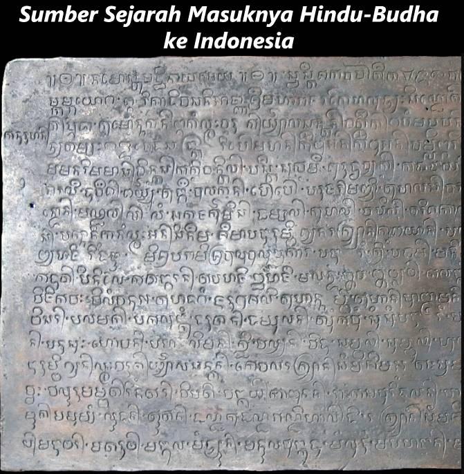 Sumber Sejarah Masuknya Hindu-Budha ke Indonesia