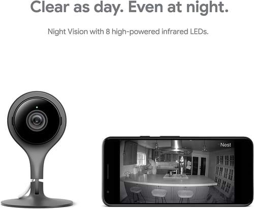 Review Google Nest Cam NC1104US Security Camera