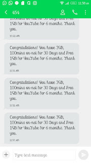 Tigo Gh Free Browsing cheat code