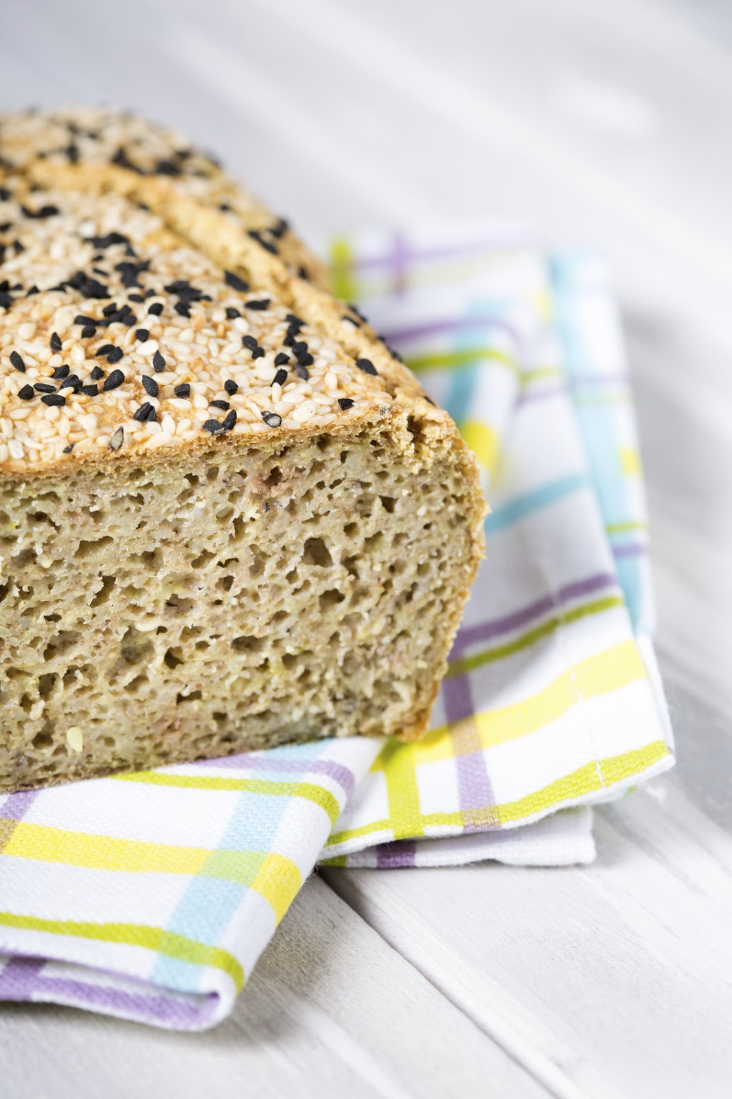 Buckwheat Gluten-Free Bread Loaf