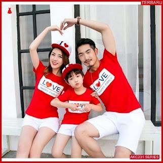 AKC231F122 Family Couple Baju Anak 231F122 Kaos Couple BMGShop