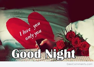 Good night wishes picture for love