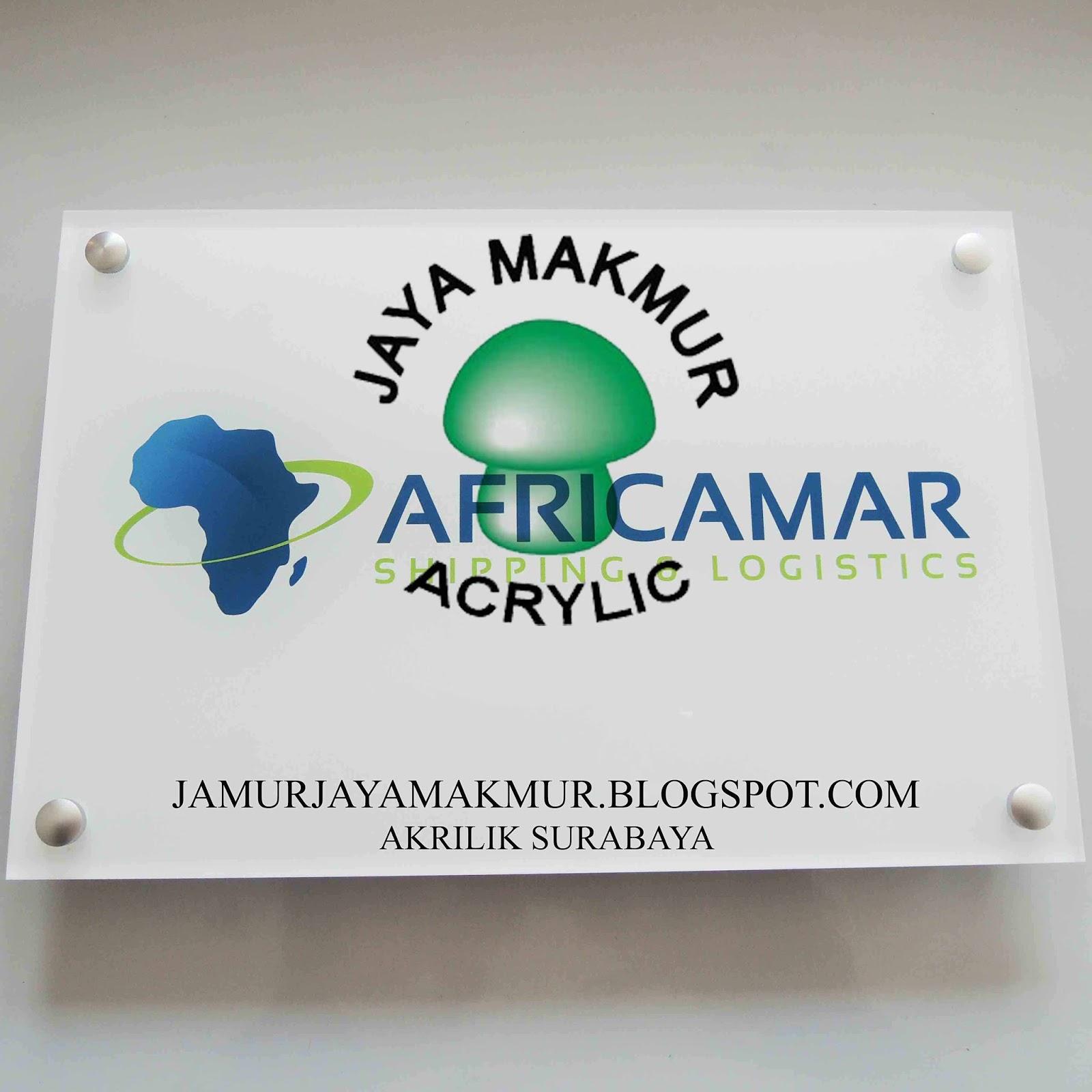 ACRYLIC Jaya Makmur AKRILIK Shop Sign Acrylic Jual