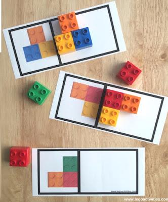 Lego Simetri Kartları!