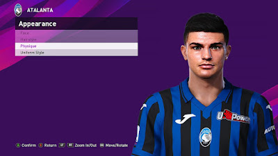 PES 2020 Faces Raoul Bellanova by Sofyan Andri