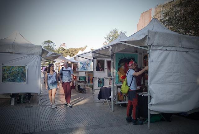 Recoleta Saturday Fair, Buenos Aires, Argentina
