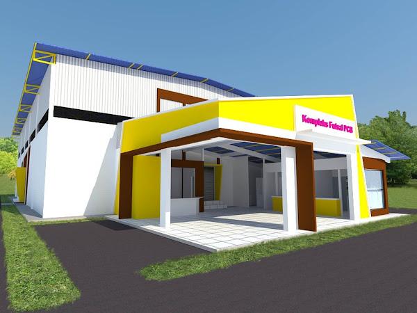 Cadangan Rekabentuk & Membina Pusat Sukan Futsal Berbumbung Pantai Cahaya Bulan (PCB)