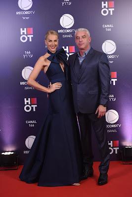 Ana Hickmann e o marido, Alexandre Corrêa - Divulgação/Record TV