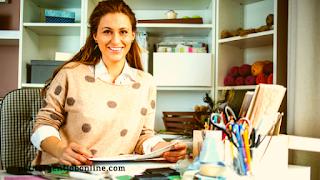 Femme Artisan, vendre en ligne, gagner de l'argent en ligne avec amazon