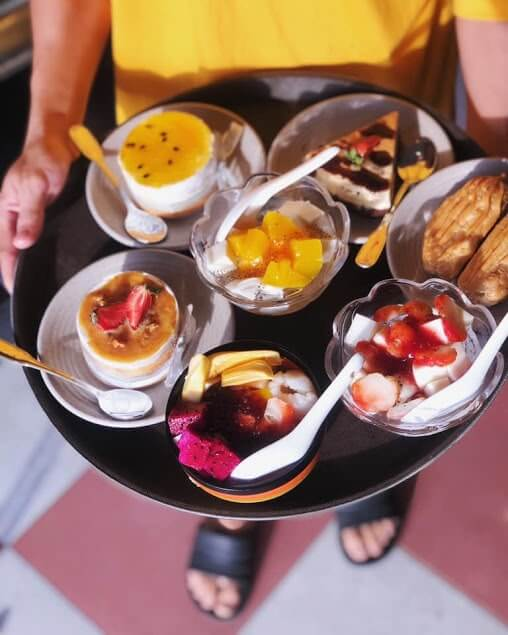 các món chè và bánh tại Chè Thái Ngọc Lan Sa Đéc 2