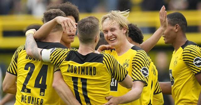 ملخص اهداف مباراة بوروسيا دورتموند واوجسبورج (2-1) الدوري الالماني