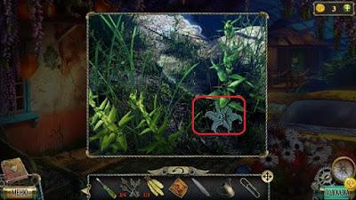 поднимаем фигурку цветка в кустах в игре тьма и пламя 3 темная сторона