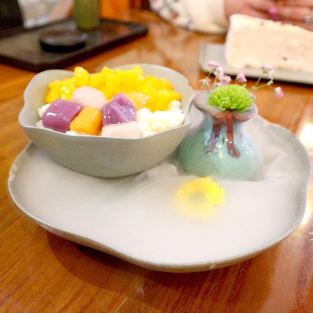 La glace pillée aux fruits de chez T'xuan est si belle !