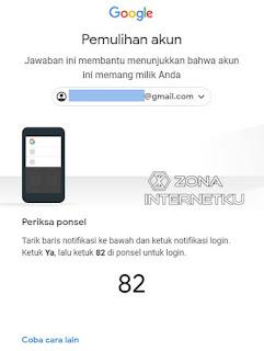 Cara Memulihkan Akun Gmail Yang Lupa Password Dengan Kode Verifikasi HP