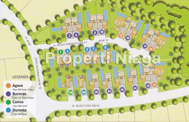Site-Plan-Emerald-Golf-Sentul-City-Properti-Niaga