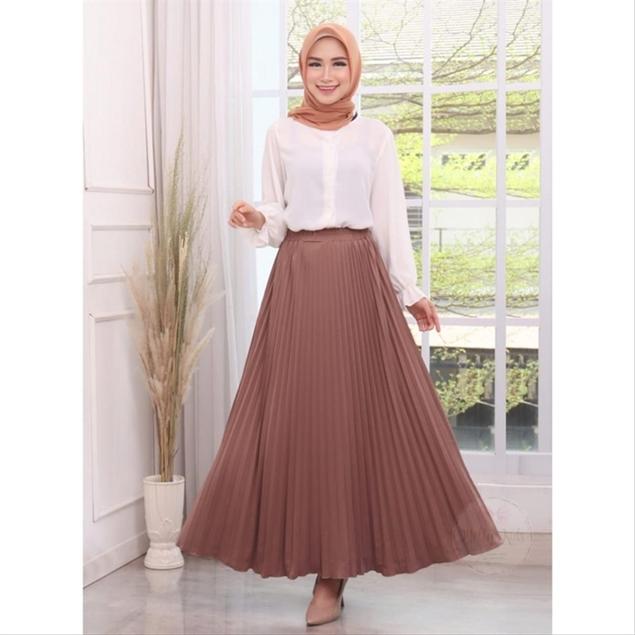 rok yang cocok untuk yang berpinggul lebar dan besar