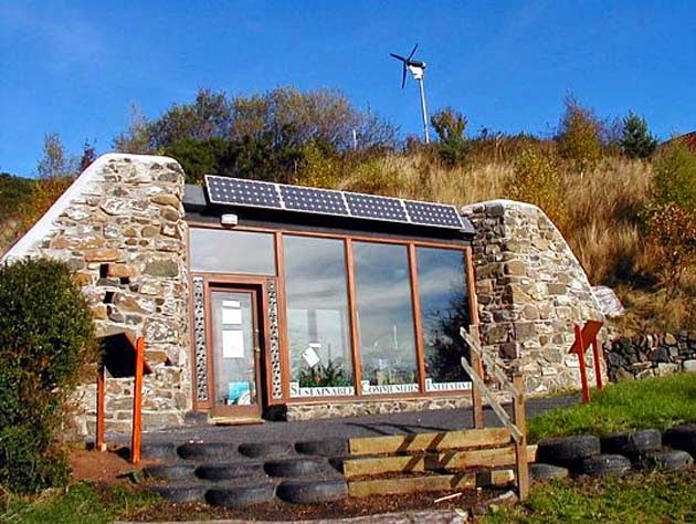 10 reasons why earthships are awesome - energy