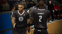 Brooklyn Nets Black Short-Sleeved Christmas Jersey