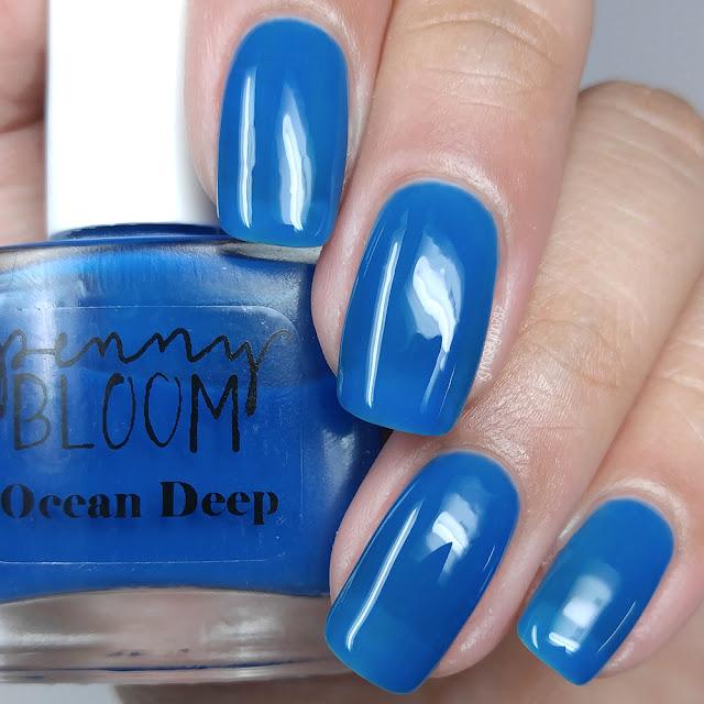 Penny Bloom Nail Polish - Ocean Deep