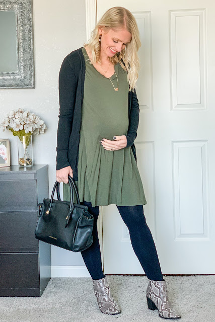 How to style a spring dress for winter