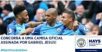 Concurso Hays, concorra camisa Manchester City