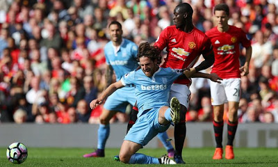 Man City lose, Chelsea 2-0 Hull city, Man U 1-1 Stoke (All the weekend's EPL results)
