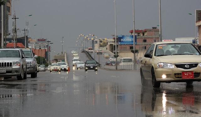 باران بارین بەردەوام دەبێت