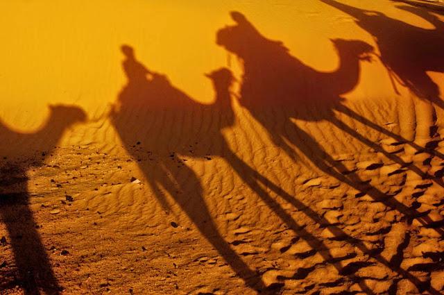 Ruta por el desierto del Sahara